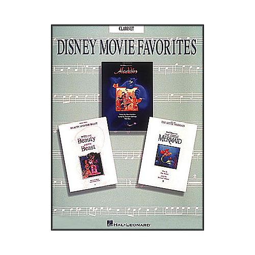 Hal Leonard Disney Movie Favorites for Clarinet thumbnail