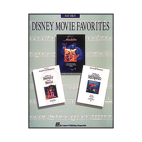Hal Leonard Disney Movie Favorites for Easy Violin thumbnail