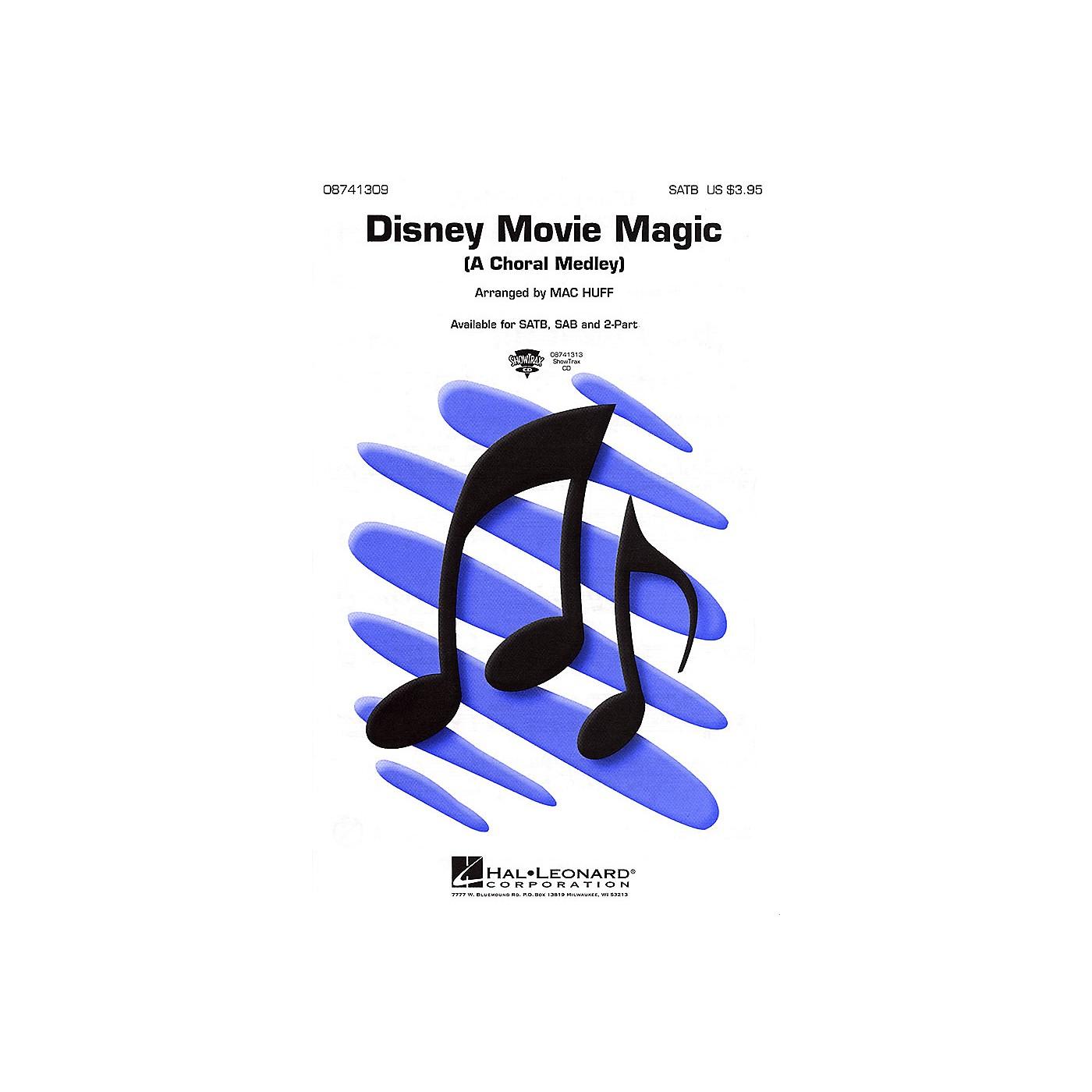 Hal Leonard Disney Movie Magic (Medley) SATB arranged by Mac Huff thumbnail