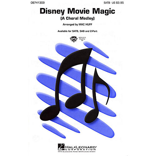 Hal Leonard Disney Movie Magic (Medley) SATB arranged by Mac Huff thumbnail