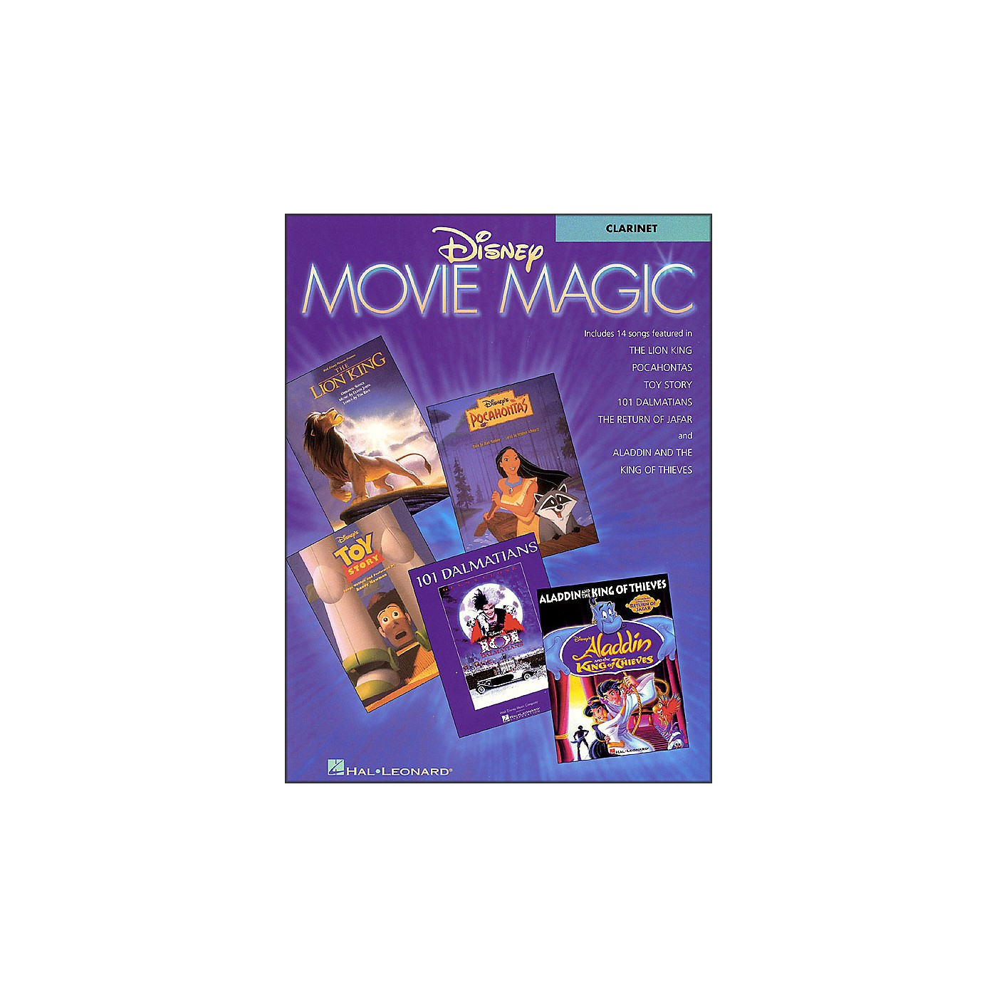 Hal Leonard Disney Movie Magic for Clarinet thumbnail