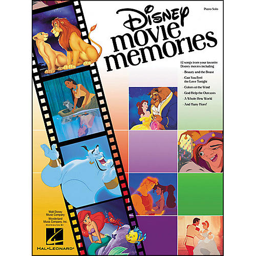 Hal Leonard Disney Movie Memories for Piano Solo thumbnail