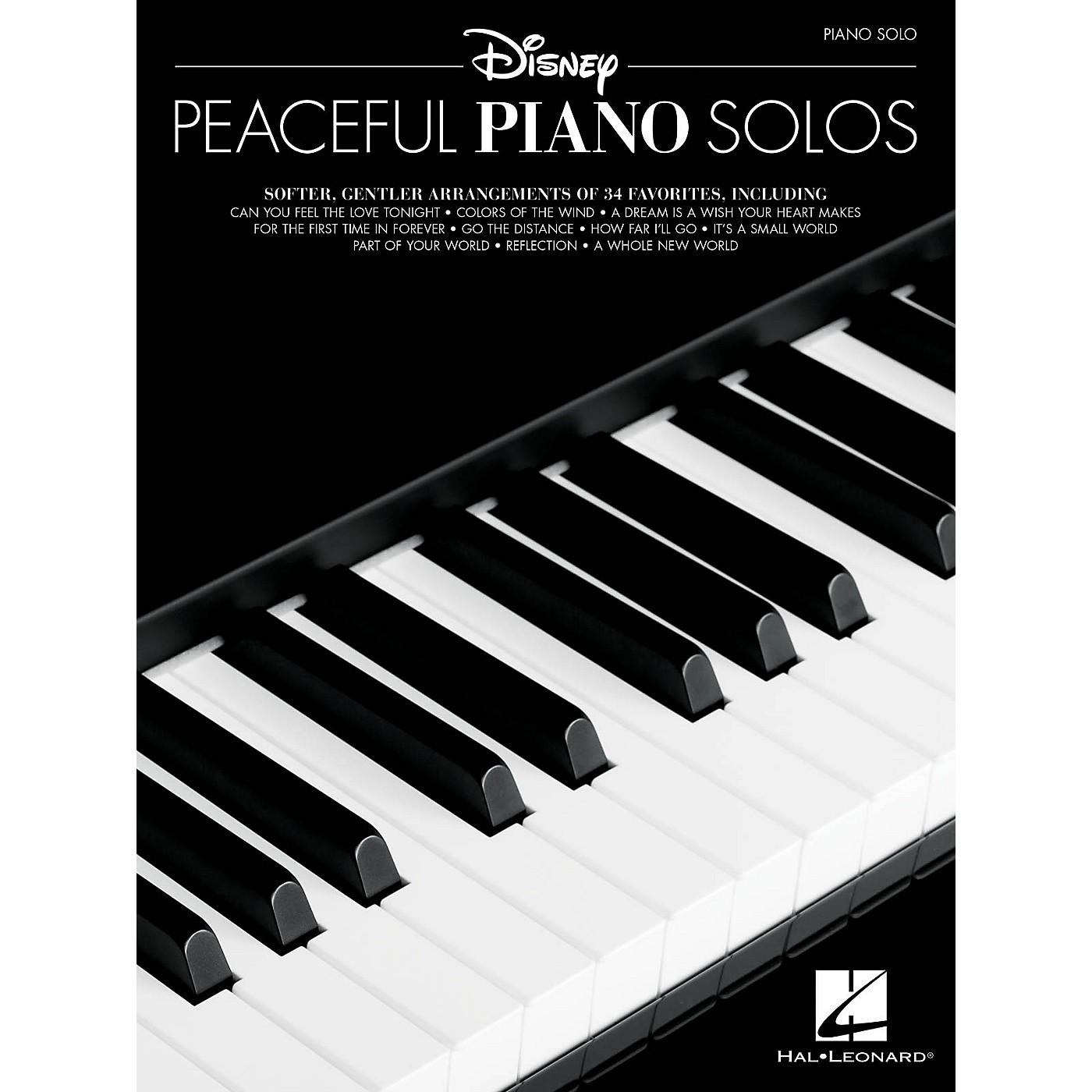 Hal Leonard Disney Peaceful Piano Solos - Piano Solo Songbook thumbnail