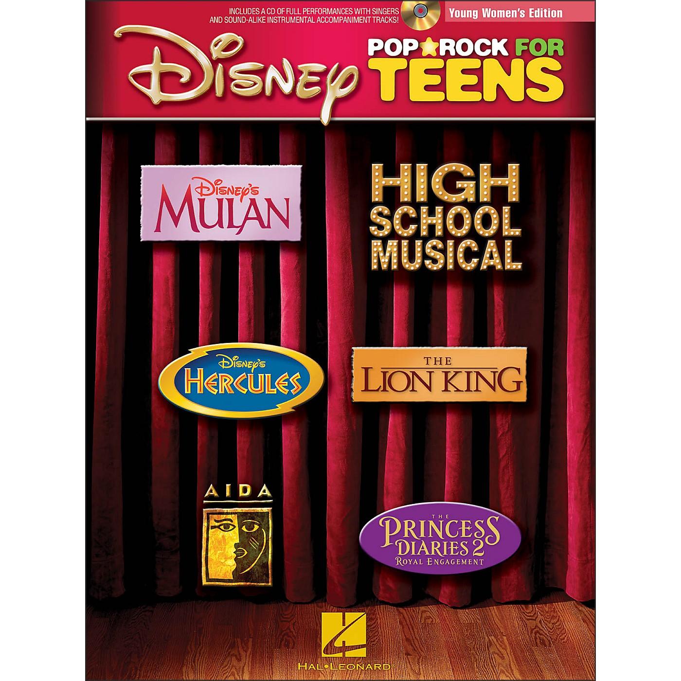 Hal Leonard Disney Pop/Rock for Teens - Young Women's Edition Book/CD thumbnail