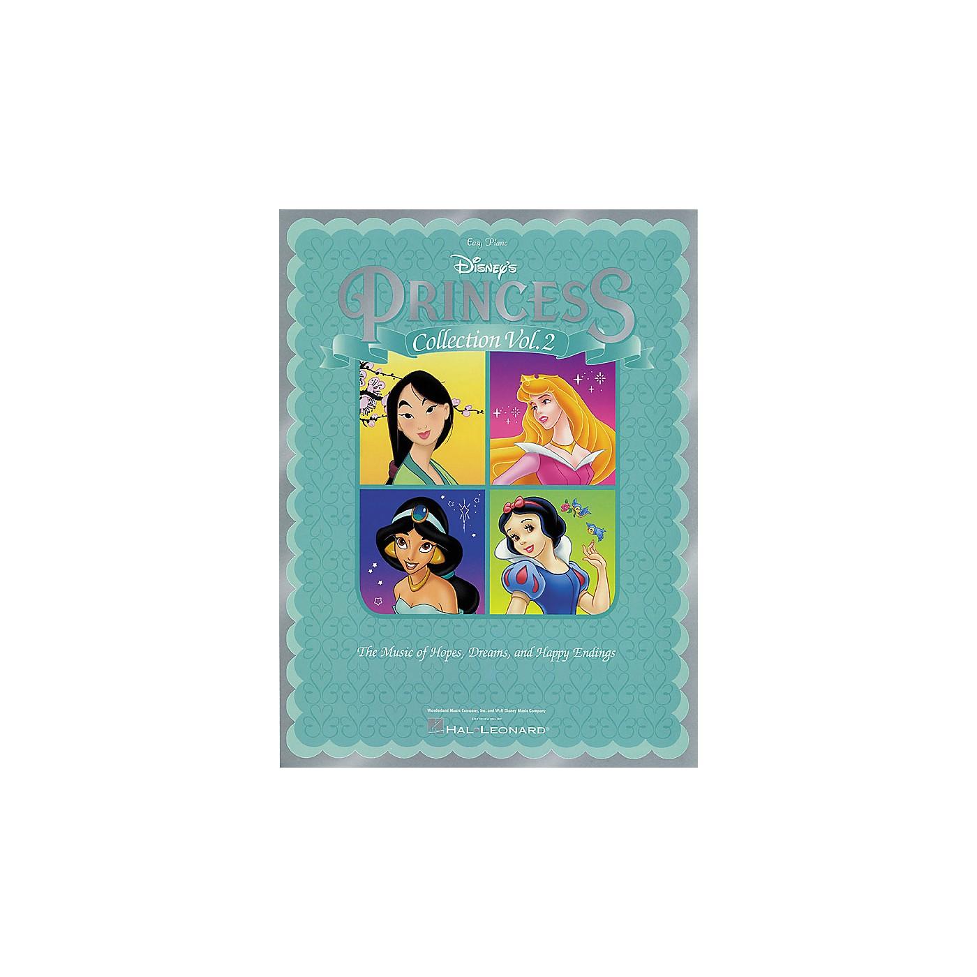 Hal Leonard Disney Princess Collection Vol 2 For Easy Piano thumbnail