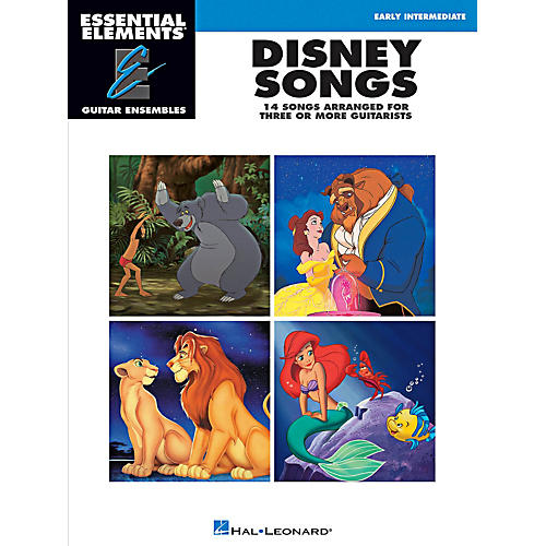 Hal Leonard Disney Songs - Essential Elements Guitar Ensembles Early Intermediate Level thumbnail