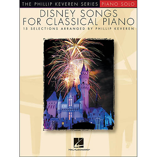 Hal Leonard Disney Songs for Classical Piano - The Phillip Keveren Series arranged for piano solo thumbnail