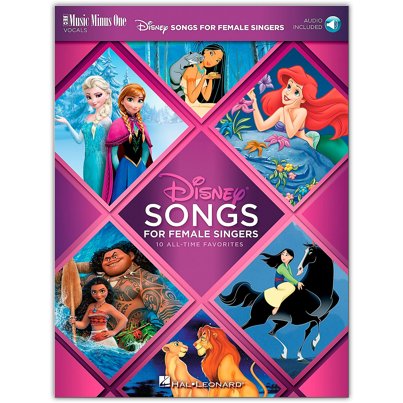 Music Minus One Disney Songs for Female Singers 10 All-Time Favorites with Fully-Orchestrated Backing Tracks Book/Audio Online thumbnail