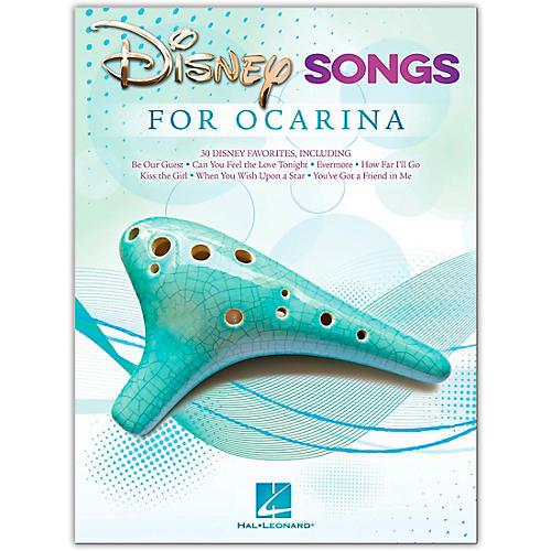 Hal Leonard Disney Songs for Ocarina - Ocarina Songbook thumbnail