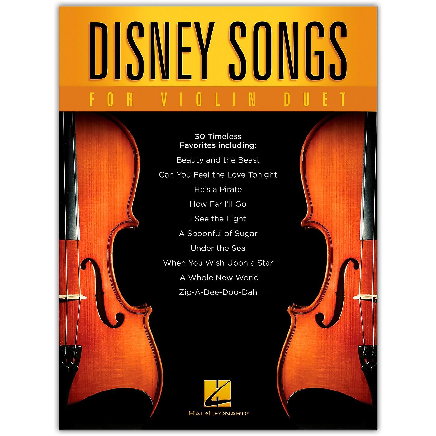 Hal Leonard Disney Songs for Violin Duet thumbnail