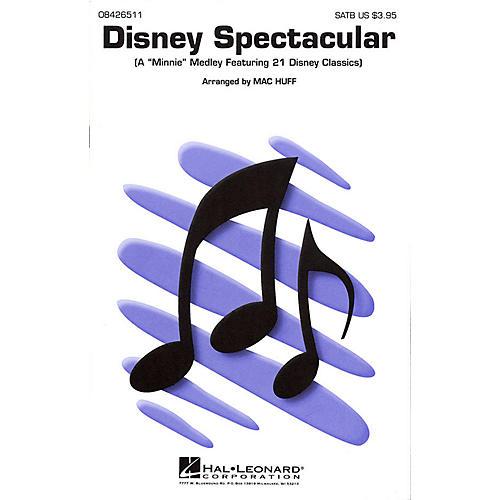 Hal Leonard Disney Spectacular (Medley) SATB arranged by Mac Huff thumbnail