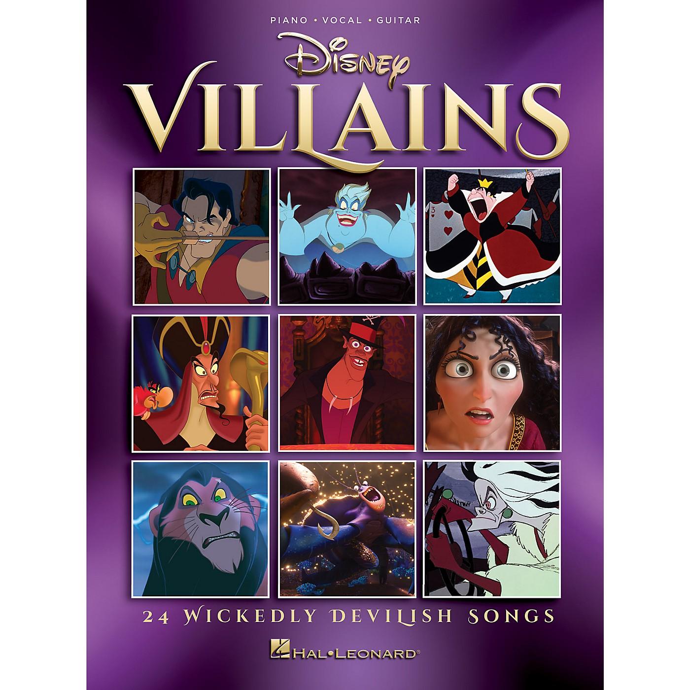 Hal Leonard Disney Villains (24 Wickedly Devilish Songs) Piano/Vocal/Guitar Songbook thumbnail