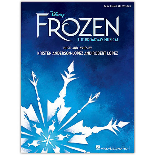 Hal Leonard Disney's Frozen - The Broadway Musical for Easy Piano thumbnail