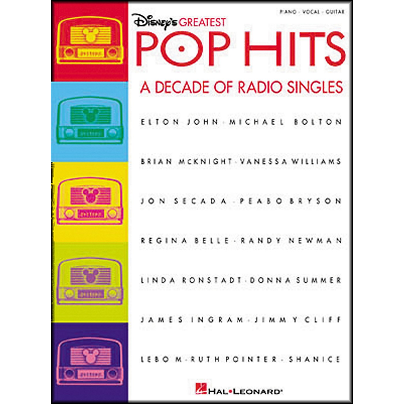 Hal Leonard Disney's Greatest Pop Hits Piano, Vocal, Guitar Songbook thumbnail