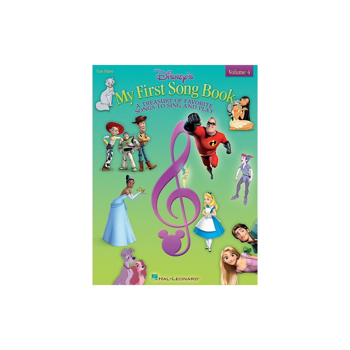 Hal Leonard Disney's My First Songbook - Volume 4 for Easy Piano thumbnail
