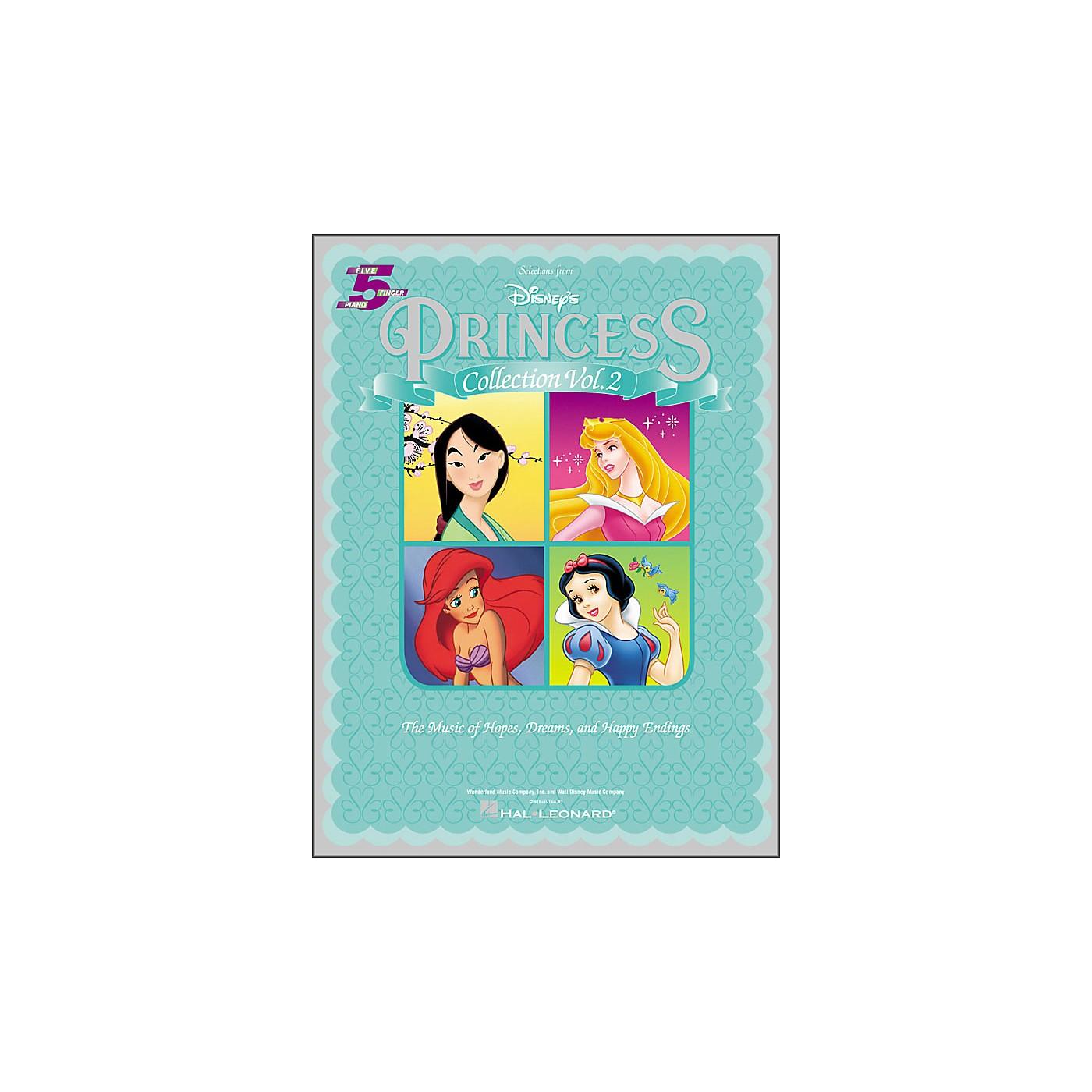 Hal Leonard Disney's Princess Collection Volume 2 for Five Finger Piano thumbnail