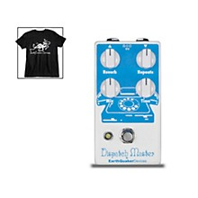 EarthQuaker Devices Dispatch Master V2 Delay & Reverb and Octoskull T-Shirt Large Black