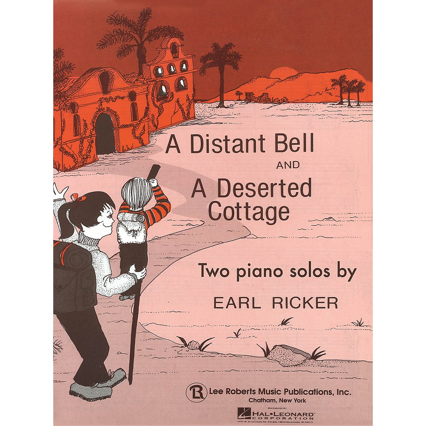 Lee Roberts Distant Bell and Deserted Cottage Pace Piano Education Series Composed by Earl Ricker thumbnail