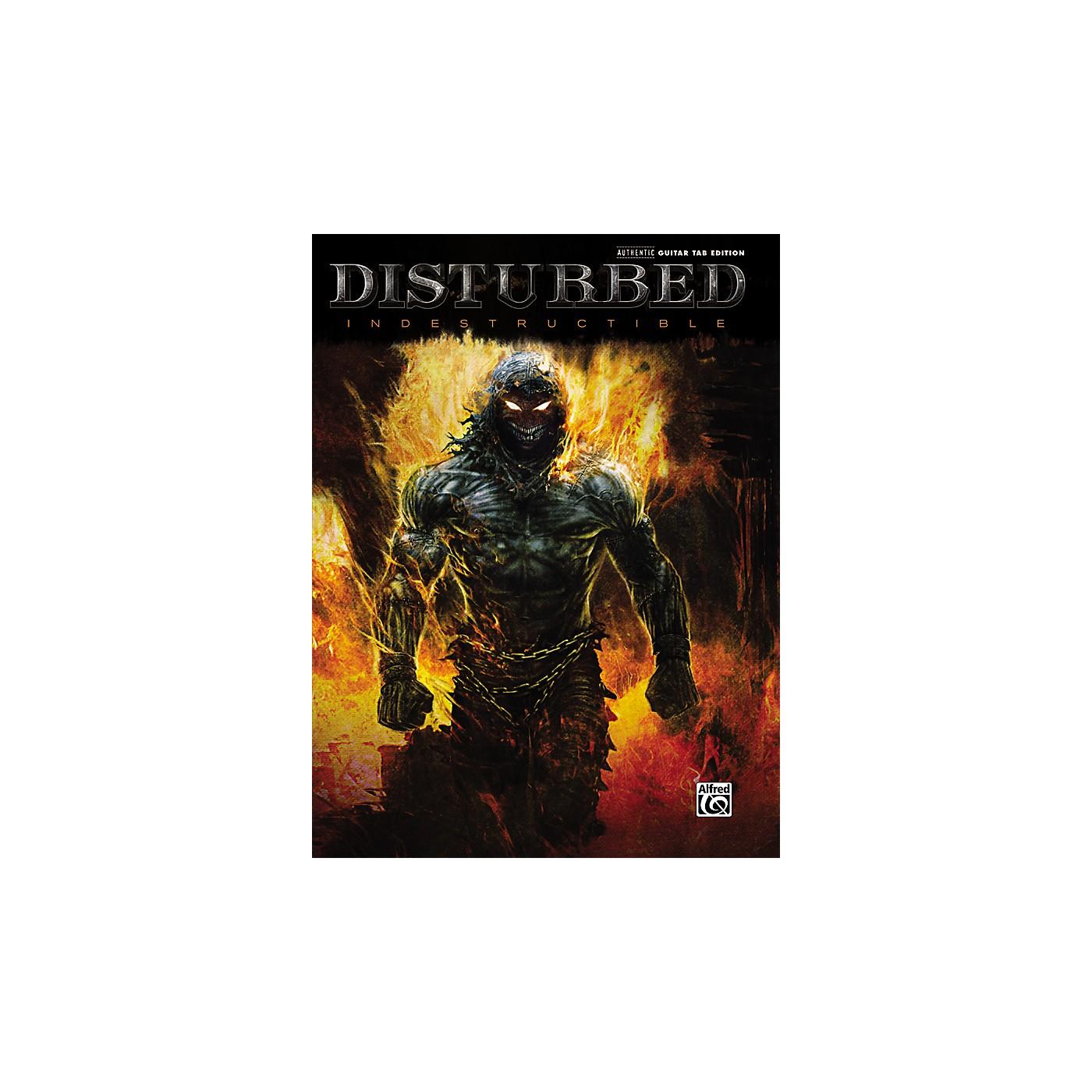 Hal Leonard Disturbed Indestructible Guitar TAB thumbnail