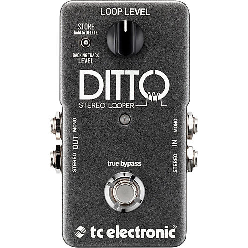 TC Electronic Ditto Stereo Looper Guitar Effects Pedal thumbnail