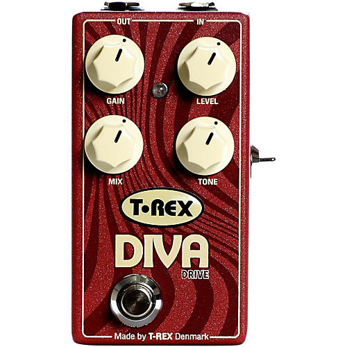T-Rex Engineering Diva Overdrive Guitar Effects Pedal thumbnail