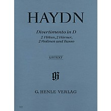 G. Henle Verlag Divertimento D Major Hob II:8 Henle Music Folios Series Softcover  by Joseph Haydn