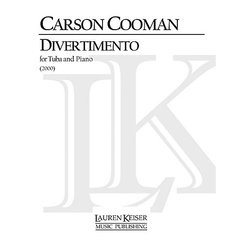 Lauren Keiser Music Publishing Divertimento for Tuba and Piano LKM Music Series Composed by Carson Cooman thumbnail