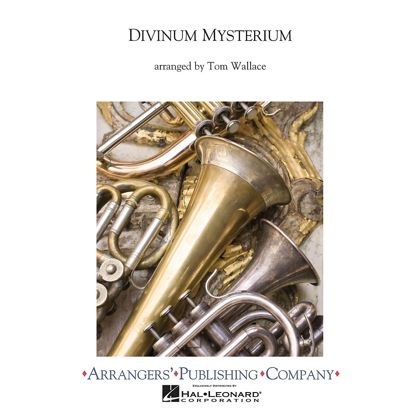Arrangers Divinium Mysterium Concert Band Level 3 Arranged by Tom Wallace thumbnail