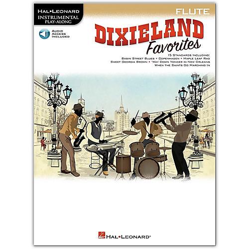 Hal Leonard Dixieland Favorites for Flute Instrumental Play-Along Book/Audio Online thumbnail