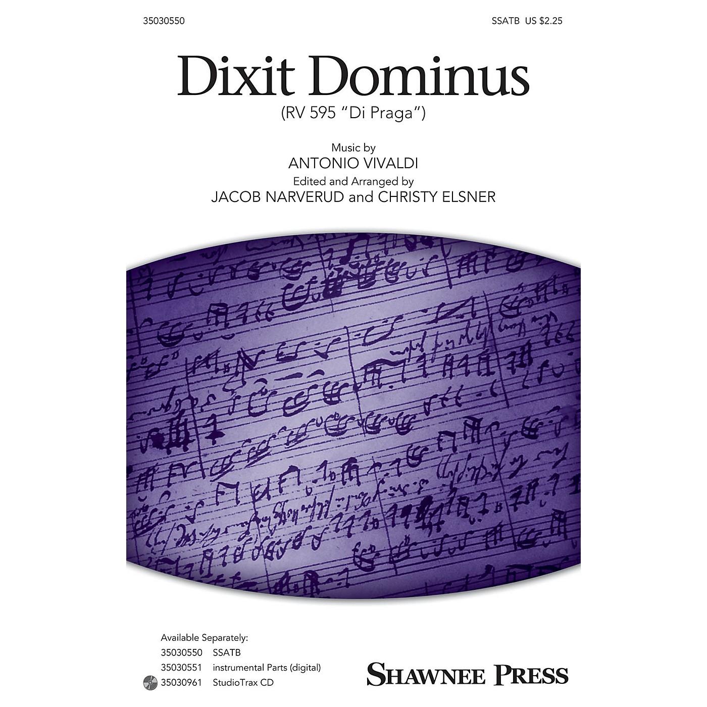 Shawnee Press Dixit Dominus (StudioTrax CD) Studiotrax CD Arranged by Jacob Narverud thumbnail