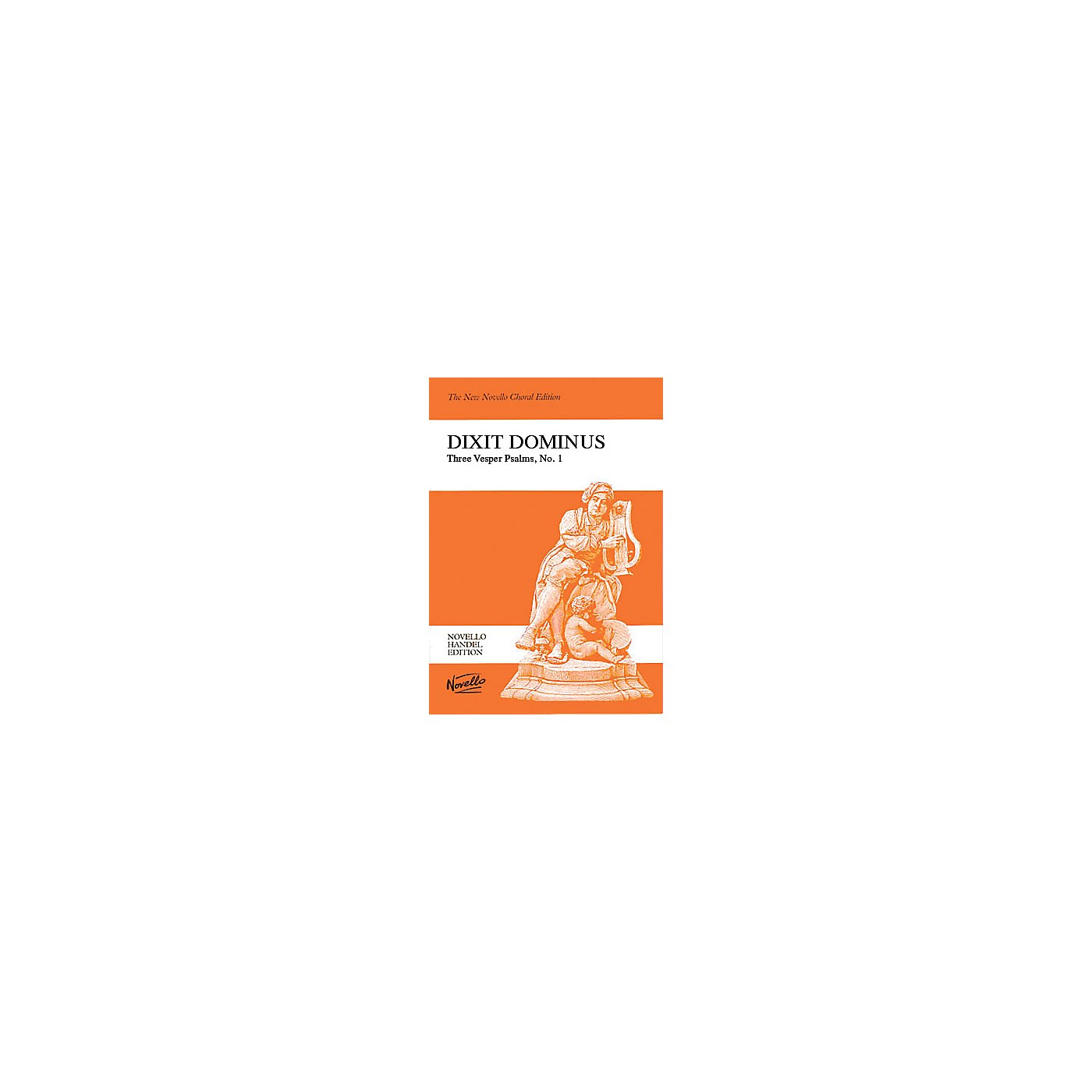 Novello Dixit Dominus (Vocal Score) SATB Composed by George Frederich Handel thumbnail