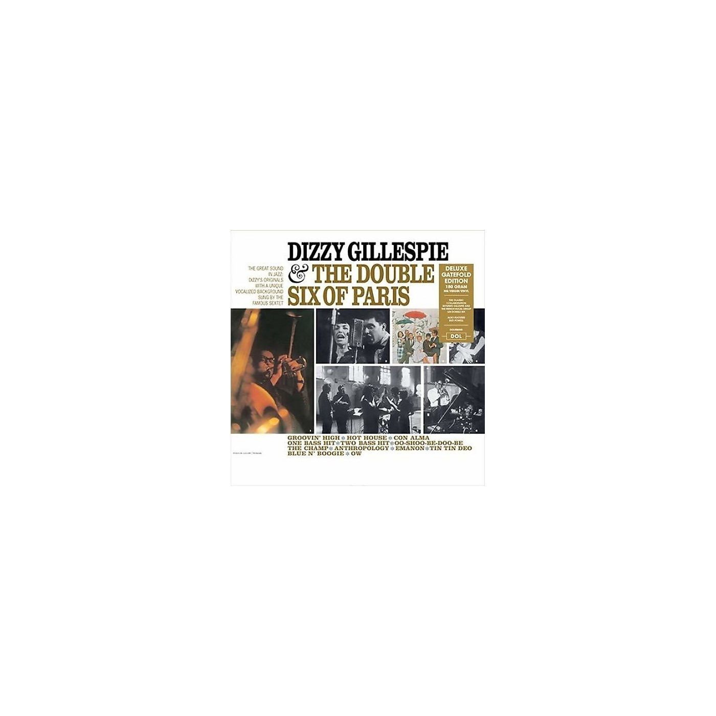 Alliance Dizzy Gillespie - Dizzy Gillespie & The Double Six Of Paris thumbnail