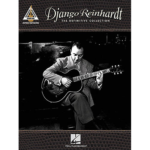 Hal Leonard Django Reinhardt - The Definitive Collection Guitar Tab Songbook thumbnail