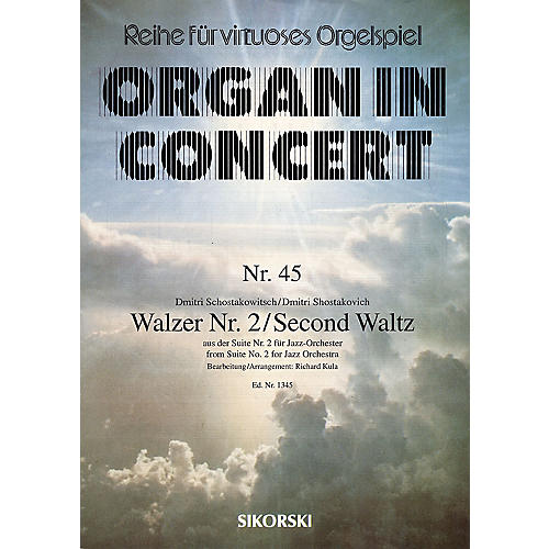 Sikorski Dmitri Shostakovich - Second Waltz Misc Series Composed by Dmitri Shostakovich thumbnail