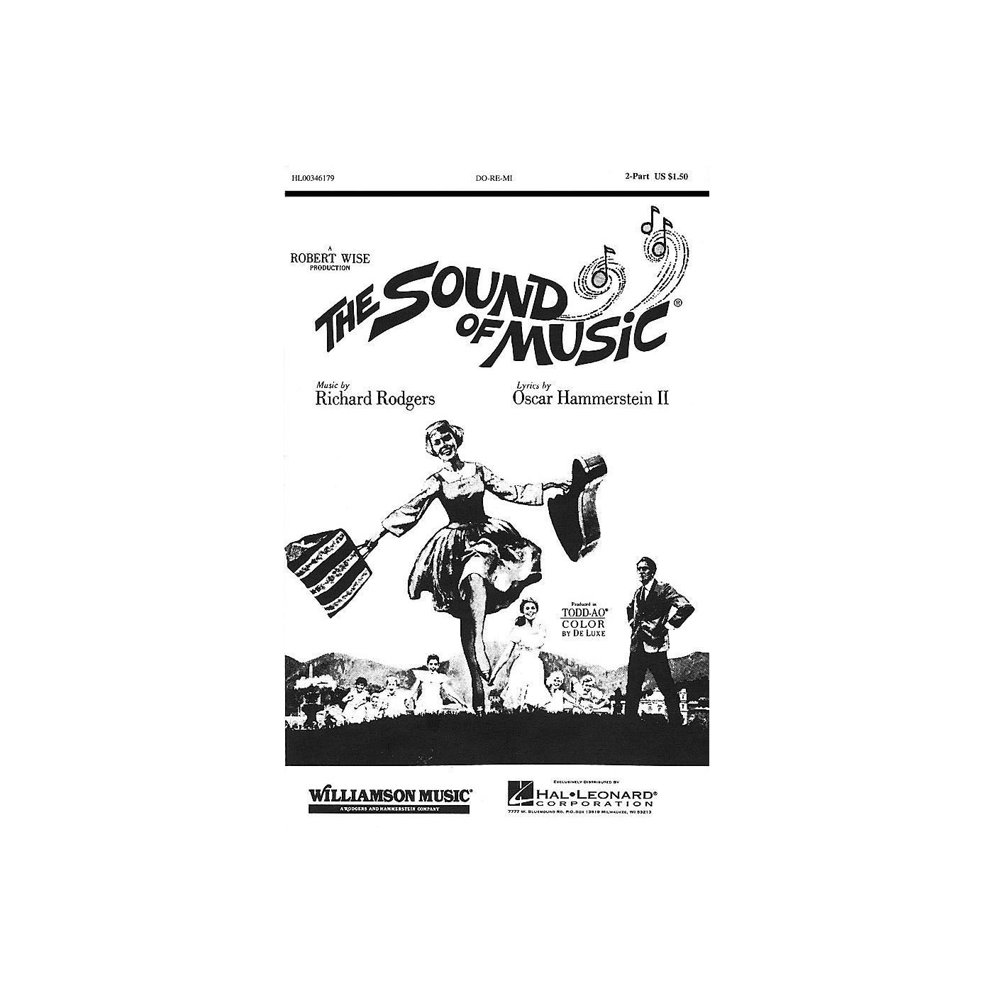 Hal Leonard Do-Re-Mi 2-Part arranged by Clay Warnick thumbnail