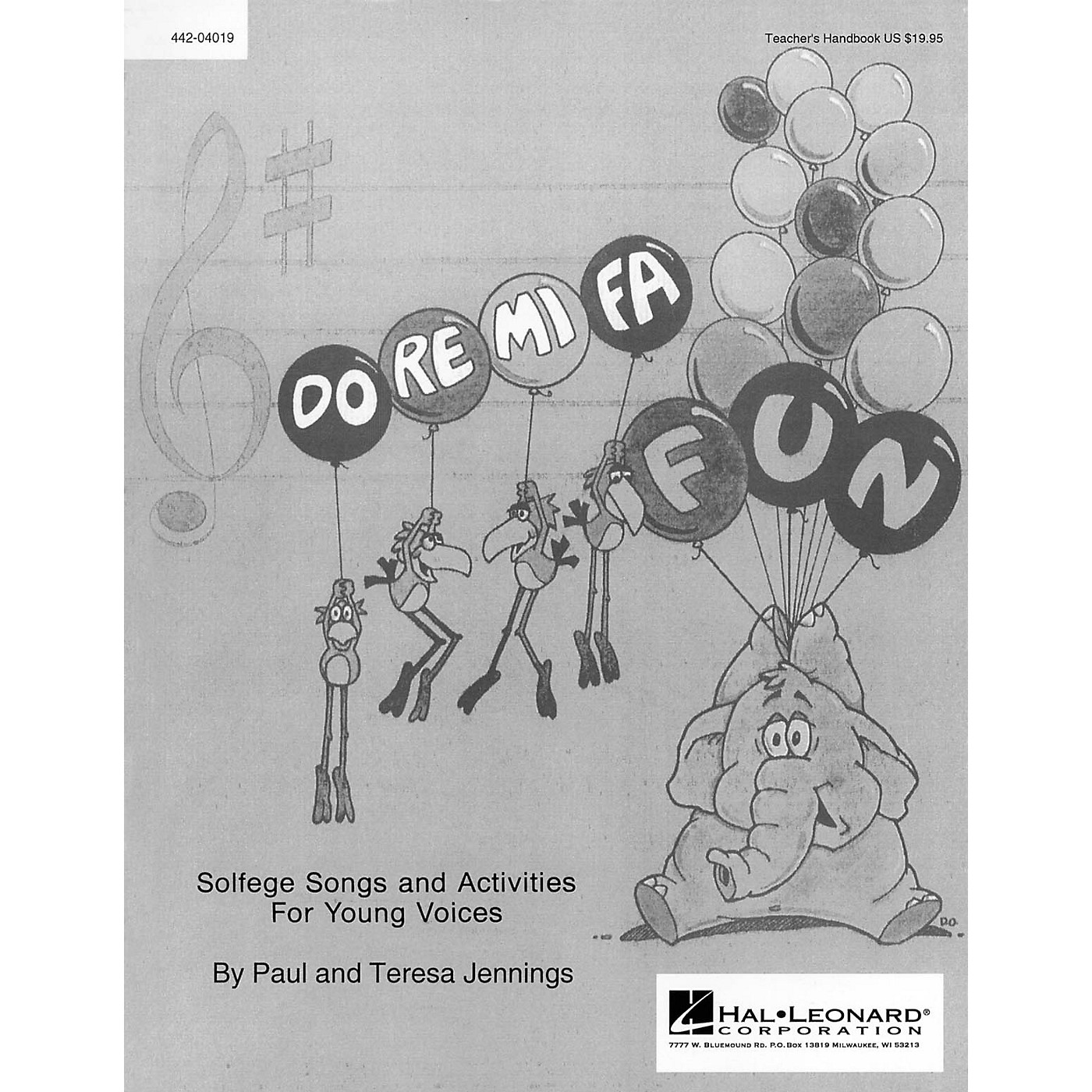 Hal Leonard Do Re Mi Fa Fun - Solfege Songs and Activities (Resource) Singer Composed by Teresa Jennings thumbnail