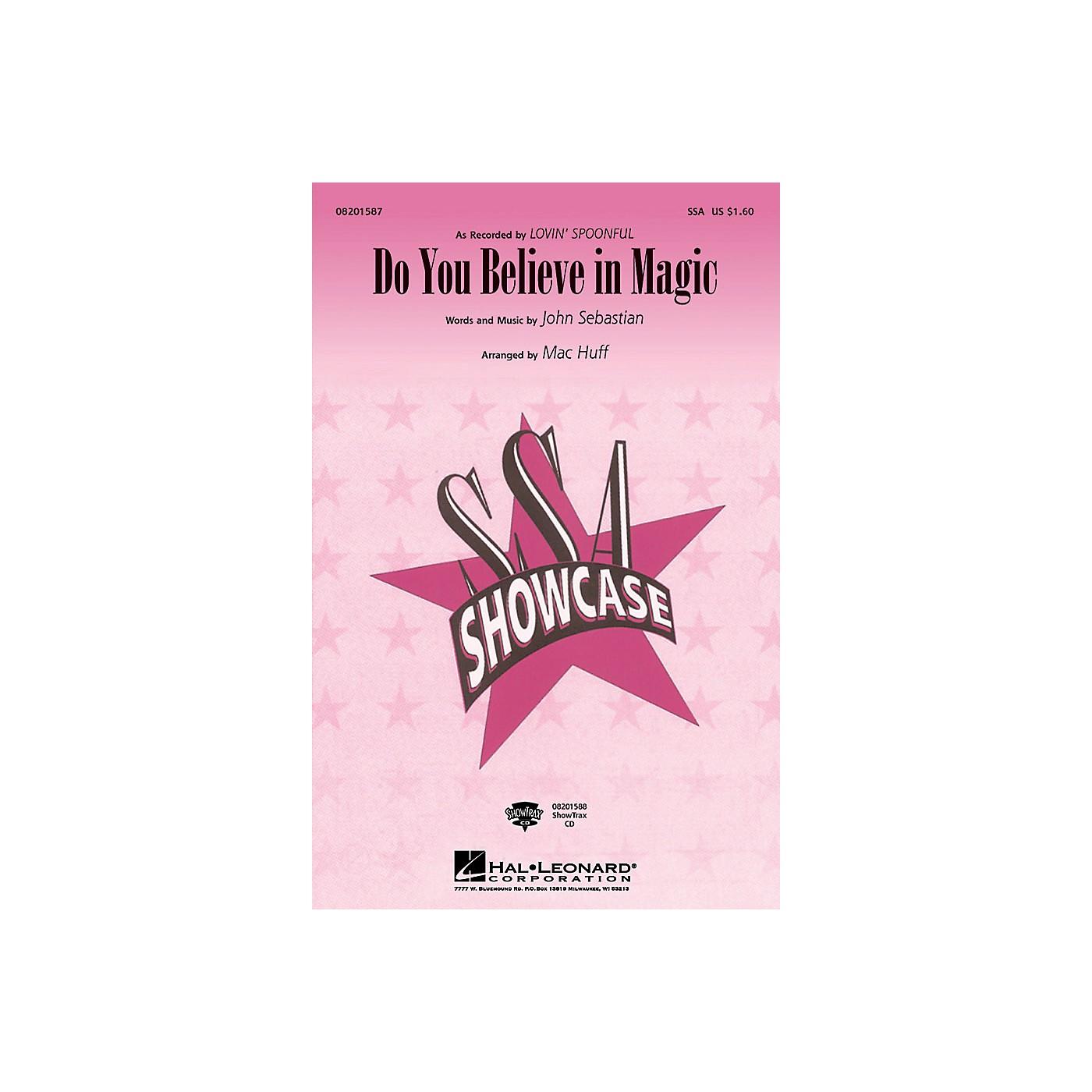 Hal Leonard Do You Believe in Magic SSA arranged by Mac Huff thumbnail