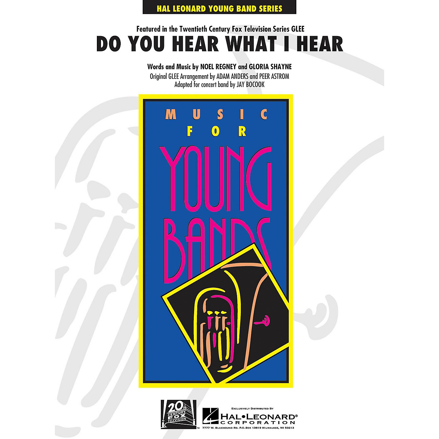 Hal Leonard Do You Hear What I Hear? - Concert Band Level 3 arrangers Jay Bocook, Peer Astrom, Adam Anders thumbnail