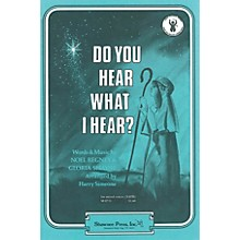 Shawnee Press Do You Hear What I Hear? SSA Arranged by Harry Simeone