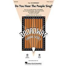 Hal Leonard Do You Hear the People Sing? (from Les Misérables) TTBB arranged by Ed Lojeski