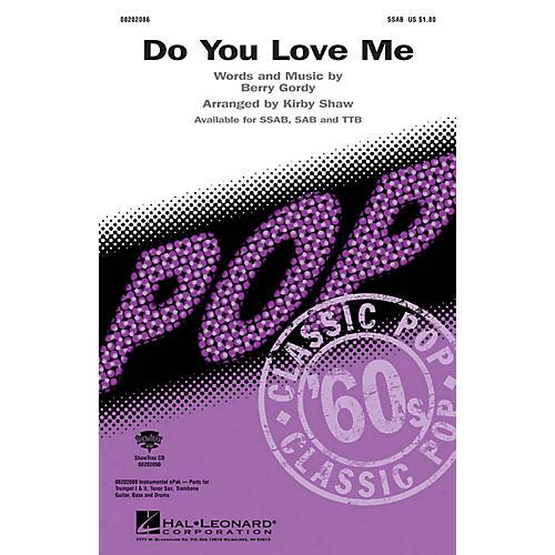Hal Leonard Do You Love Me SSAB arranged by Kirby Shaw thumbnail