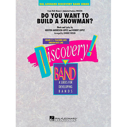 Hal Leonard Do You Want To Build A Snowman?  From Frozen - Discovery Concert Band Level 1.5 thumbnail