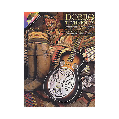 Hal Leonard Dobro Techniques for Bluegrass and Country Music (Book/CD) thumbnail