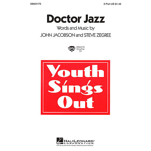 Hal Leonard Doctor Jazz 2-Part composed by John Jacobson thumbnail