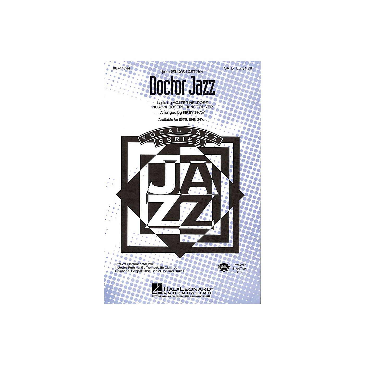 Hal Leonard Doctor Jazz ShowTrax CD Arranged by Kirby Shaw thumbnail