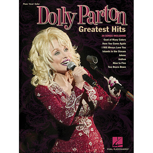 Hal Leonard Dolly Parton - Greatest Hits arranged for piano, vocal, and guitar (P/V/G) thumbnail