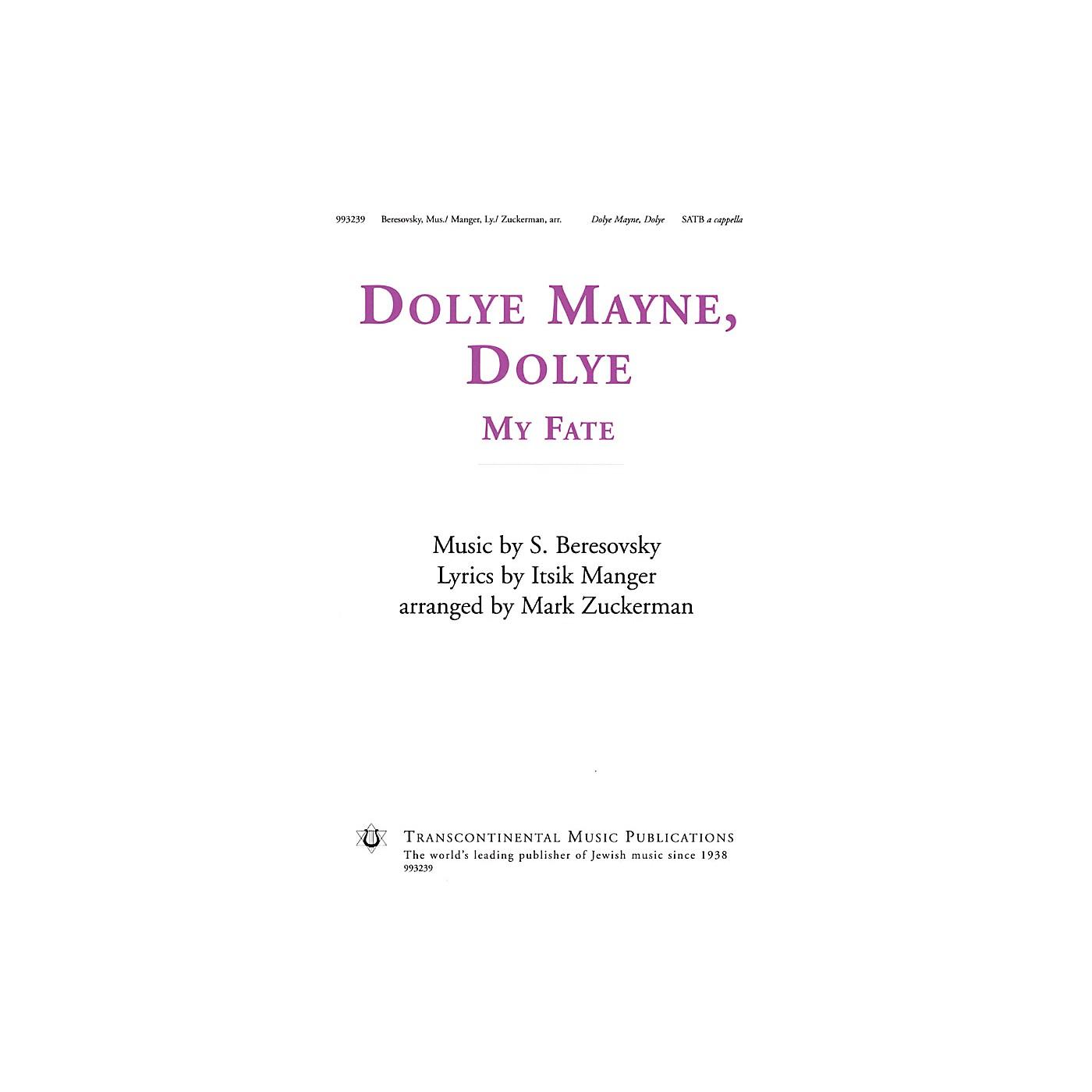 Transcontinental Music Dolye Mayne, Dolye (My Fate) SATB a cappella arranged by Mark Zuckerman thumbnail