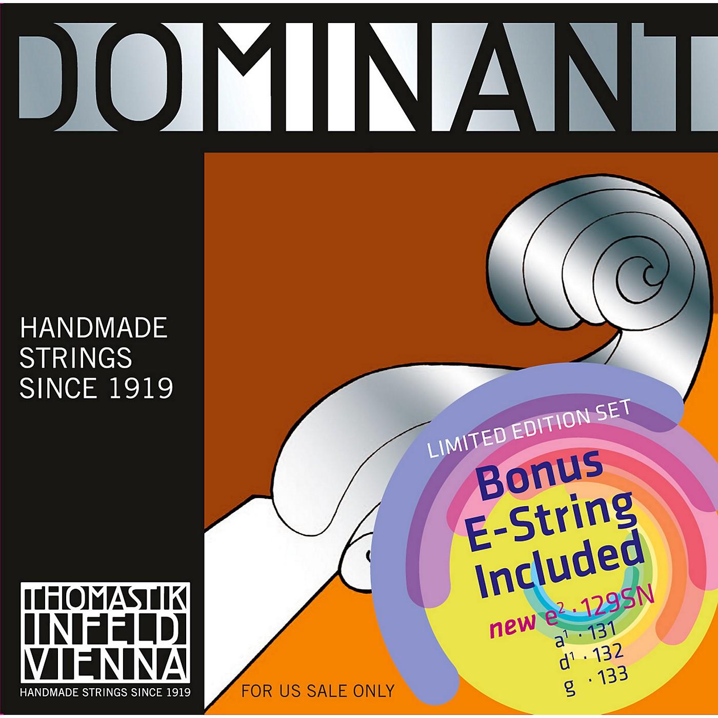 Thomastik Dominant Violin Value Pack with Tin-Plated E String thumbnail