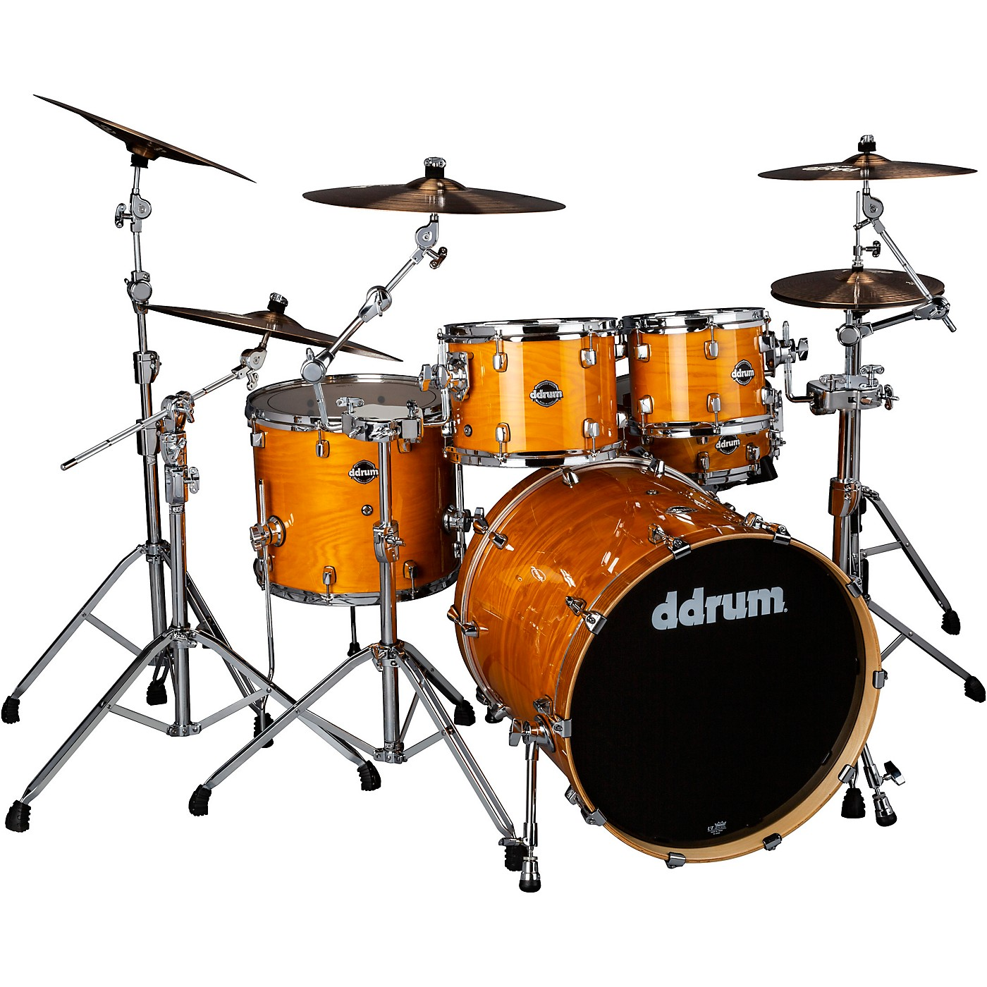 ddrum Dominion Birch 5-piece Shell Pack with Ash Veneer thumbnail