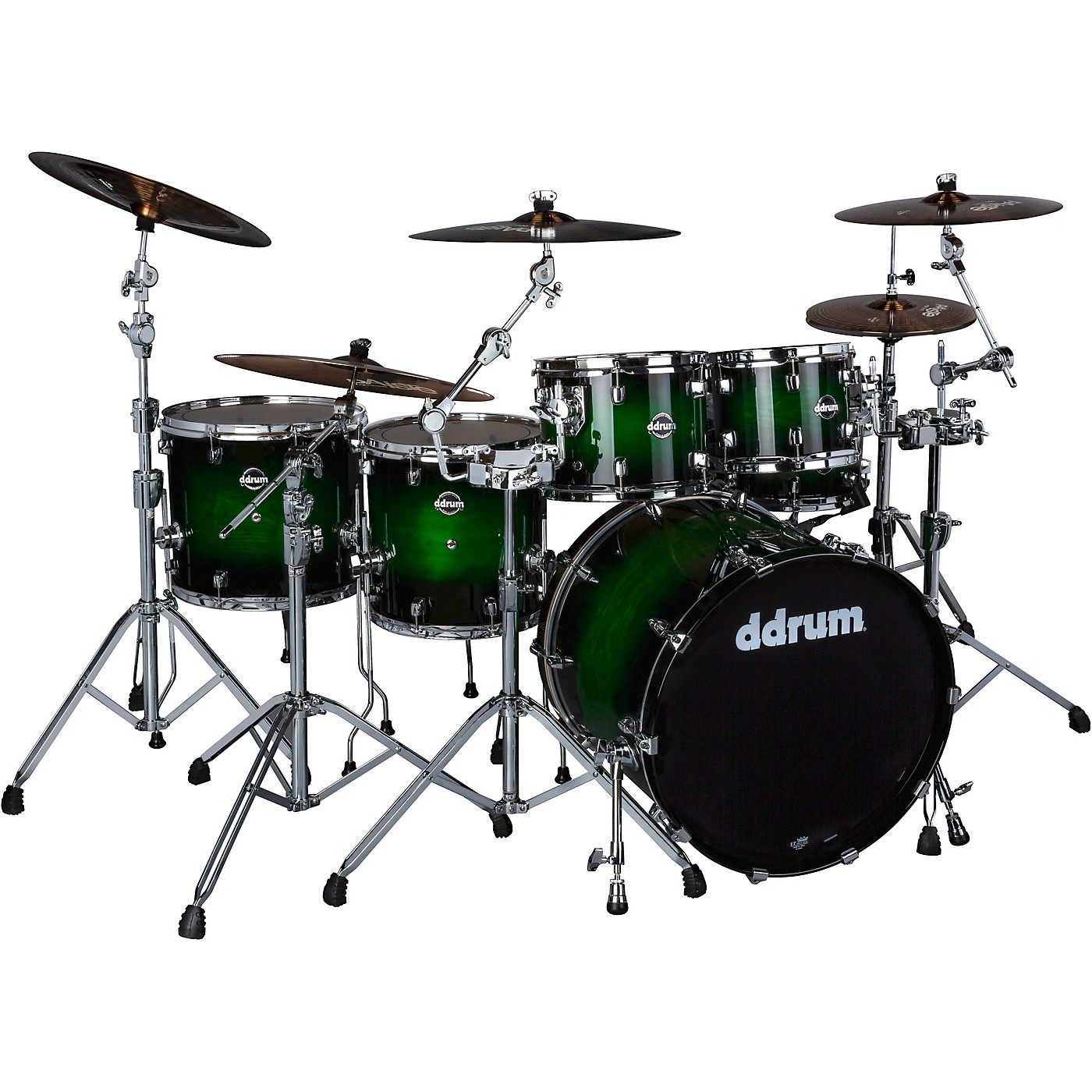 ddrum Dominion Birch 6-piece Shell Pack with Ash Veneer thumbnail